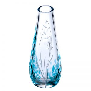 Celtic Meadow Bud Vase - Crystal 100% Hand Cut - The Irish Handmade Glass Company