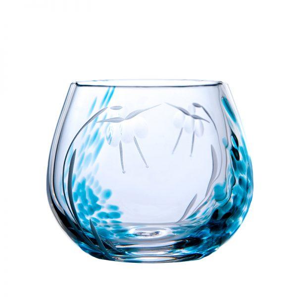 Celtic Meadow Candle Votive - Crystal 100% Hand Cut - The Irish Handmade Glass Company