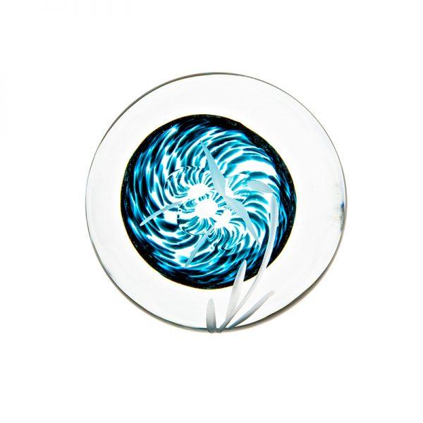 Celtic Meadow Handcooler - Crystal 100% Hand Cut - The Irish Handmade Glass Company