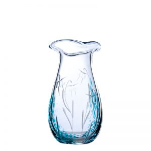 Celtic Meadow Medium Vase - Crystal 100% Hand Cut - The Irish Handmade Glass Company