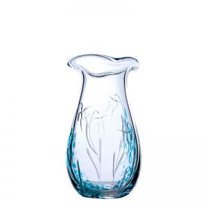 Celtic Meadow Medium Vase - Crystal 100% Hand Cut - The Irish Handmade Glass Company