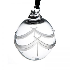 Cut Bauble - Crystal 100% Hand Cut - The Irish Handmade Glass Company