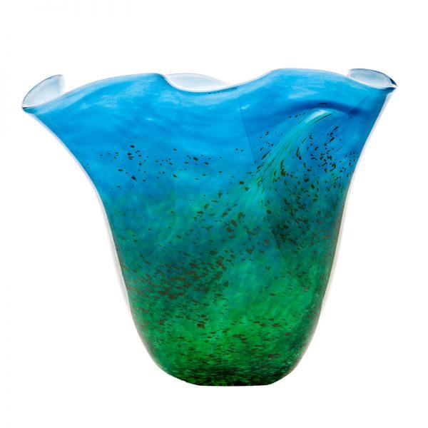 Horizon Centrepiece - Crystal 100% Hand Cut - The Irish Handmade Glass Company