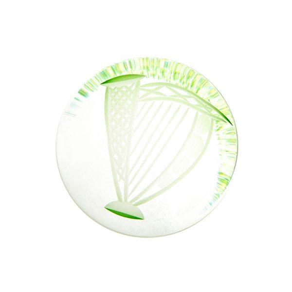 Harp HandCooler - Crystal 100% Hand Cut - The Irish Handmade Glass Company