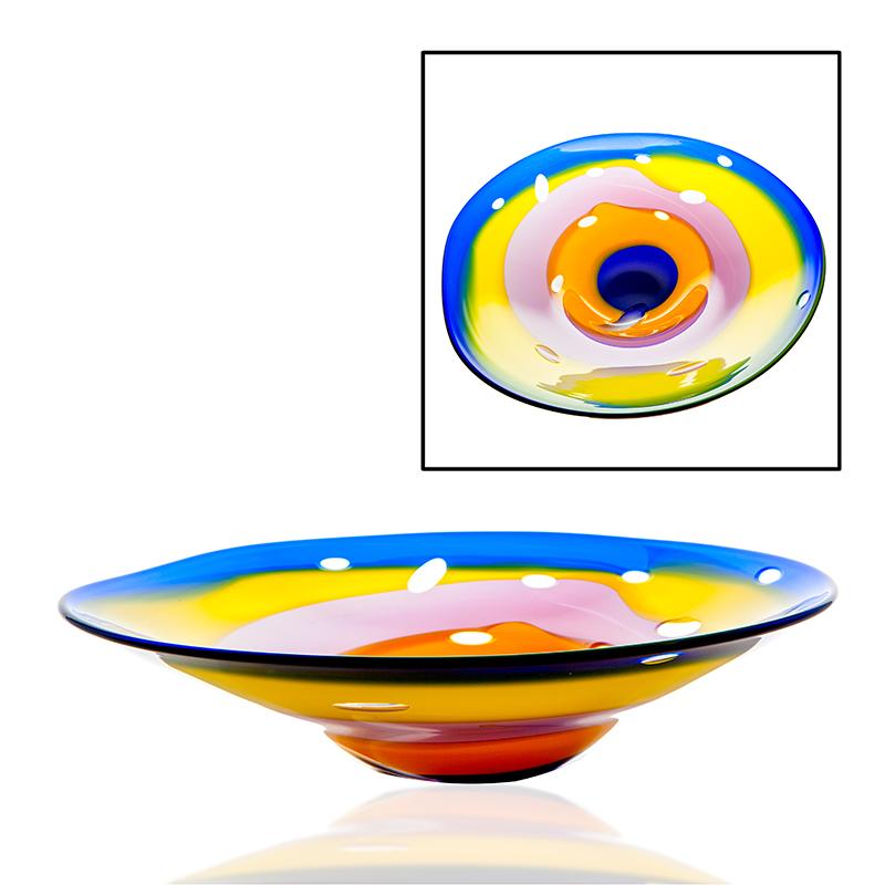 Kingsmeadow Centrepiece - Crystal 100% Hand Cut - The Irish Handmade Glass Company