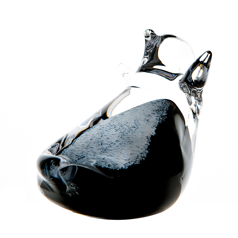 Penguin Sliding - Crystal 100% Hand Cut - The Irish Handmade Glass Company
