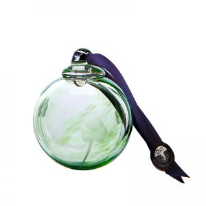 Shamrock Bauble - Crystal 100% Hand Cut - The Irish Handmade Glass Company