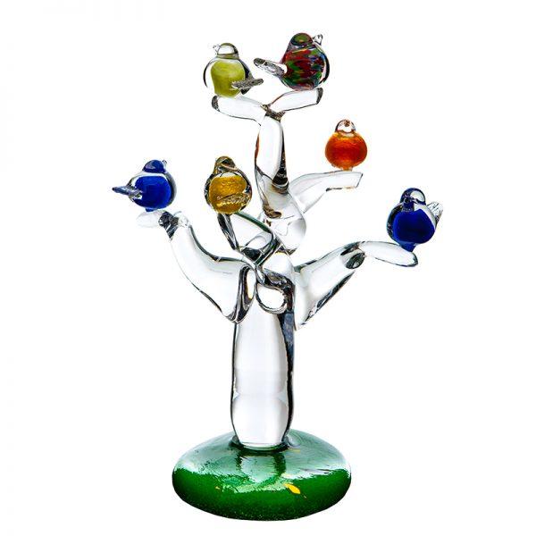 Tree Of Life - Crystal 100% Hand Cut - The Irish Handmade Glass Company