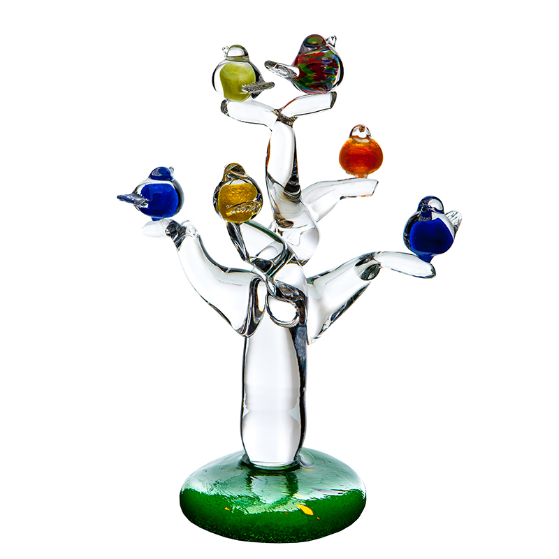 Tree Of Life - Crystal 100% Hand Cut - The Irish Handmade Glass Company
