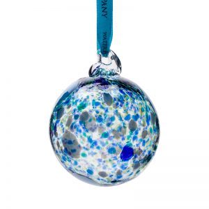 Atlantic Bauble - Crystal 100% Hand Cut - The Irish Handmade Glass Company