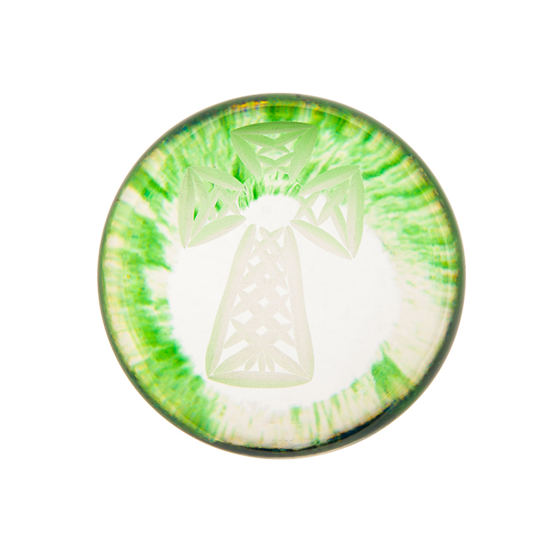 Celtic Cross Handcooler - Crystal 100% Hand Cut - The Irish Handmade Glass Company