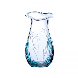 Celtic Meadow Posy Vase - Crystal 100% Hand Cut - The Irish Handmade Glass Company