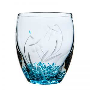 Celtic Meadow Tumbler - Crystal 100% Hand Cut - The Irish Handmade Glass Company