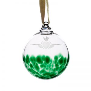 Claddagh Bauble - Crystal 100% Hand Cut - The Irish Handmade Glass Company