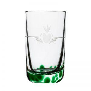 Claddagh Shot Glass - Crystal 100% Hand Cut - The Irish Handmade Glass Company