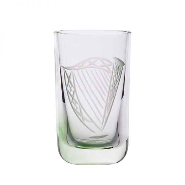 Harp Shot Glass - Crystal 100% Hand Cut - The Irish Handmade Glass Company