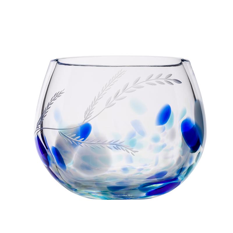 Wild Atlantic Candle Votive - Crystal 100% Hand Cut - The Irish Handmade Glass Company