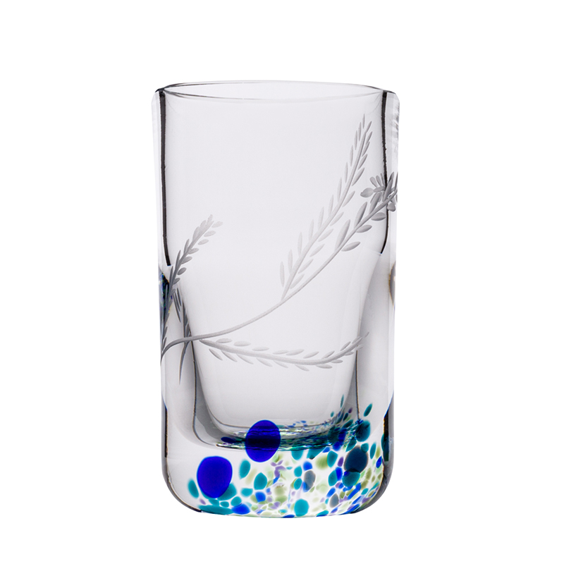 Wild Atlantic Way Shot Glass - Crystal 100% Hand Cut - The Irish Handmade Glass Company