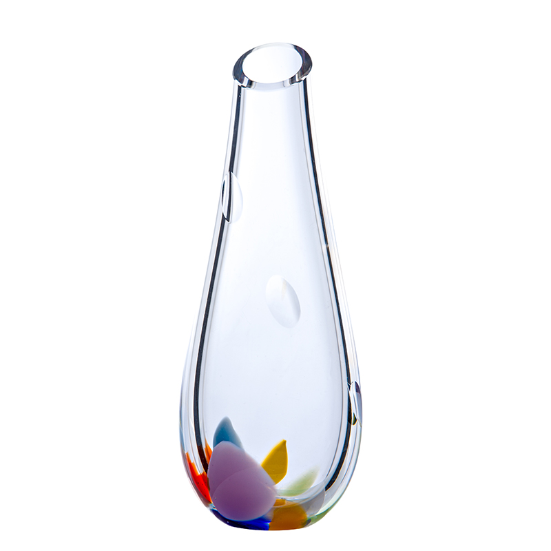 Wildflower Bud Vase - Crystal 100% Hand Cut - The Irish Handmade Glass Company