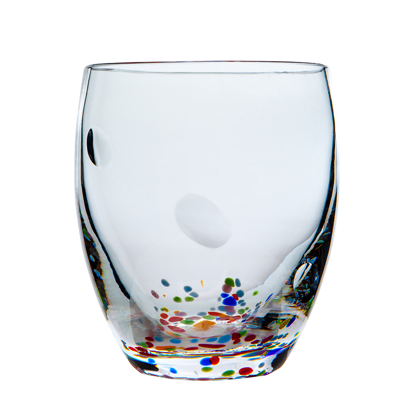 Wildflower Tumbler - Crystal 100% Hand Cut - The Irish Handmade Glass Company